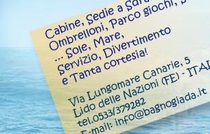 Bar Bagno GIADA*** Lido delle Nazioni - Ferrara